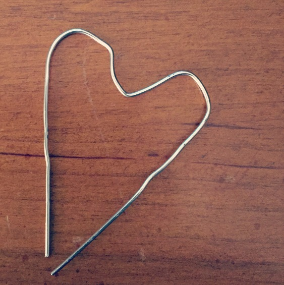 paperclip heart - tranquil